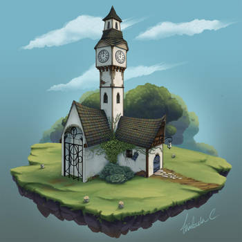 Clock Tower Redesign by Scyrel