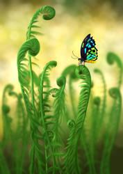 Schmetterling - Butterfly by unikatdesign