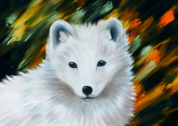 Polarfuchs by unikatdesign