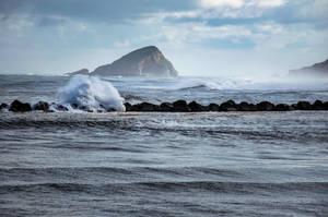 Big Ocean Waves by unikatdesign