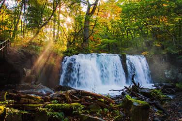 Choshi-otaki Falls by unikatdesign
