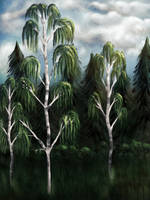 Three Birches by unikatdesign