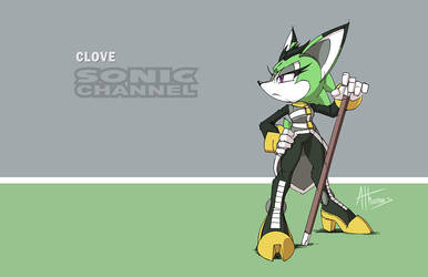 Clove Sonic Channel by AdamBryceThomas