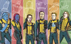 X-Men First Class: Checkmate by Jenken