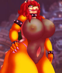 Beastly Bowsette - See through by TehZee