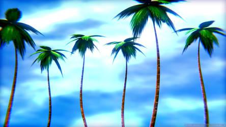 Palm Tree's by TehZee