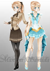 New Senshi - Sailor Aquamarine by Lulapuri