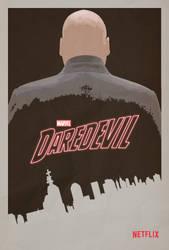 Marvel's Daredevil Series Poster by TouchboyJ-Hero