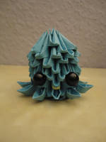 3D Origami - Octopus - 1 by Mixowelle