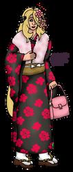 Cynthia in a Kimono by NobrisAgni
