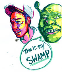 This is my Swamp! by SscarletTearsS