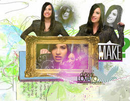 Demi Lovato Background by xSweetSmile