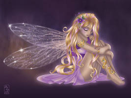Glowing-fairy by ajpenrose