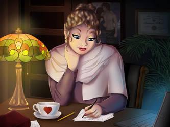 Bianca White - Romance Novellist by ajpenrose
