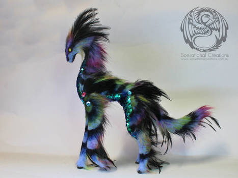 Seraph - Handmade Ooak poseable artdoll Qilin by SonsationalCreations