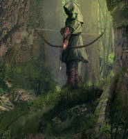 Archer by Hilaz