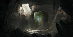 Ancient Cavern by Hilaz