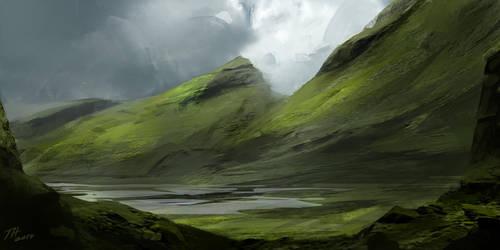 Landscape Practise 1 by Hilaz