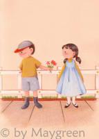 Valentine - for Girl by Maygreen