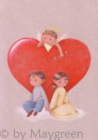 Valentine - cupid by Maygreen