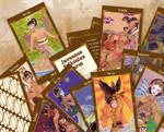 Javanese Folktales Tarot cards by Maygreen