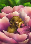 Sleeping Fairy by Maygreen