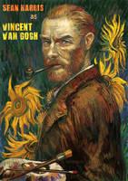 Sean Harris as Vincent van Gogh by sunsetagain