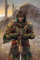 Yusuf Tazim in Ishak Pasha armor by sunsetagain