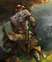 Native Armor by sunsetagain
