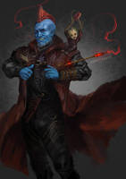 Yondu and Groot by sunsetagain