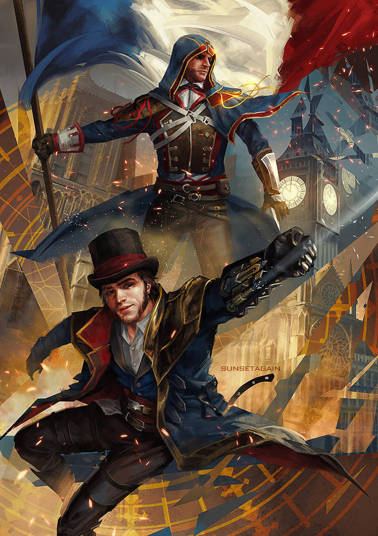 Jacob and Arno by sunsetagain