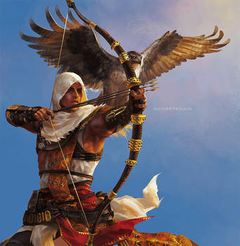 Bayek by sunsetagain