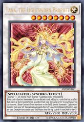 Lana, the Lightsworn Prophet by grezar