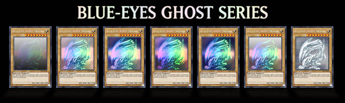 Blue-Eyes Ghost Series by grezar