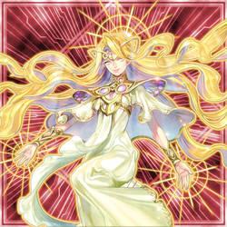 [ARTWORK]Lana, the Lightsworn Prophet by grezar