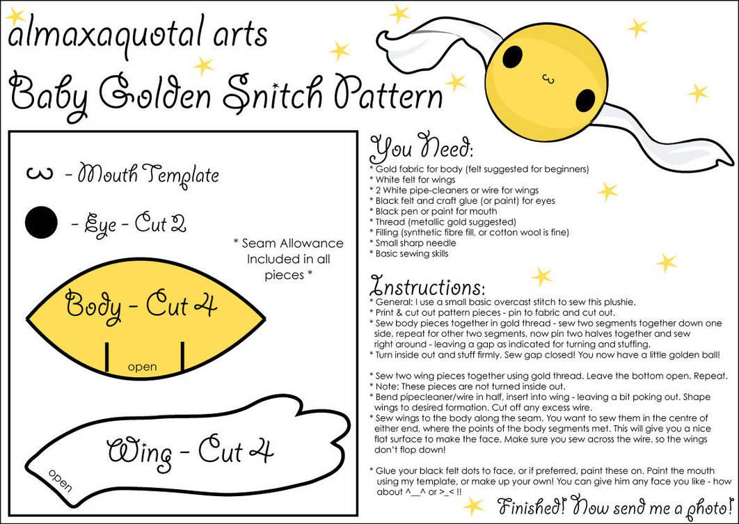 harry potter snitch wings template www