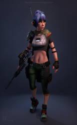 Sci Fi Girl by Kitpashka