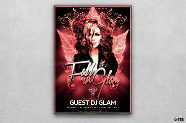 Fall in Glam Flyer Template V4 by Thats-Design