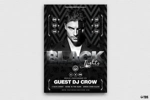 Black Nights Flyer Template V2 by Thats-Design