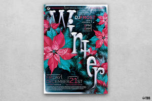 Winter Season Flyer Template V2 by Thats-Design