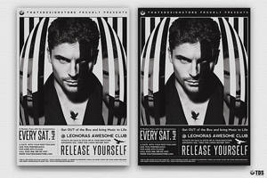 Release Yourself Flyer Template by Thats-Design