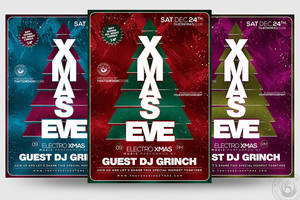 Christmas Eve Flyer Template V6 by Thats-Design