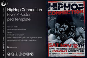 HipHop Connection Flyer Template by Thats-Design
