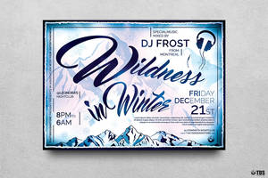 Wildness in Winter Flyer Template by Thats-Design
