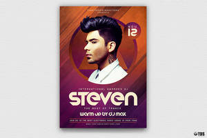 DJ Session Flyer Template V2 by Thats-Design
