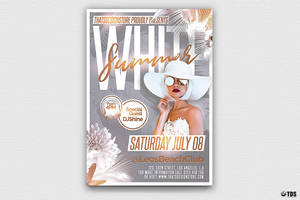 White Summer Flyer Template by Thats-Design