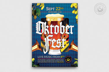 Oktoberfest Flyer Template V13 by Thats-Design