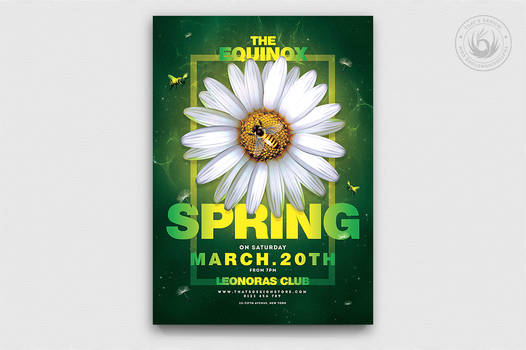 Spring Day Flyer Template V3 by Thats-Design