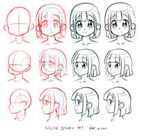 Head study #1 by Nsio