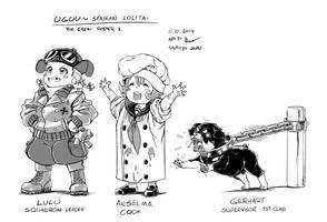 Uguu~ Senkan Lolita: The Crew Roster 3 by Nsio